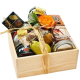 colorado cheese and accompanyments gift basket