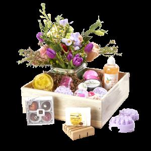 Large Colorado Bath, Beauty and flower Box