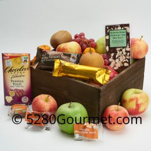 Fall Fruit with Chocolate