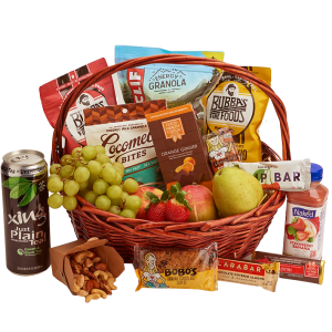 large local  Healthy Snack and Fruit Basket ( non GMO and Organic)