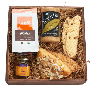 Best Of Colorado Organic Coffee and Organic Tea and sweets crate