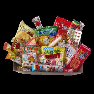 Dagashi Japanese Snack Basket