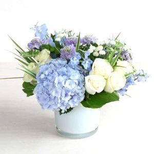 Denver delivery White and blue arrangement
