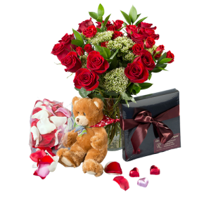 Red Rose Romantic Package Denver Delivery