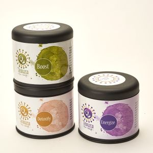 Teaura loose leaf wellness tea